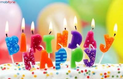 Sinh nhật tặng quà cho hội viên dài lâu của Mobifone