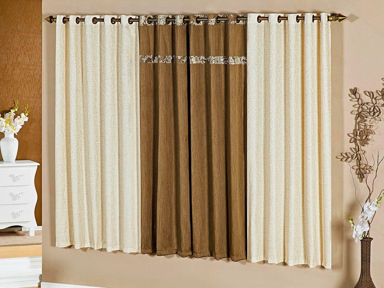 Dicas de decora o cortinas e persianas para salas x - Diferentes modelos de cortinas para sala ...