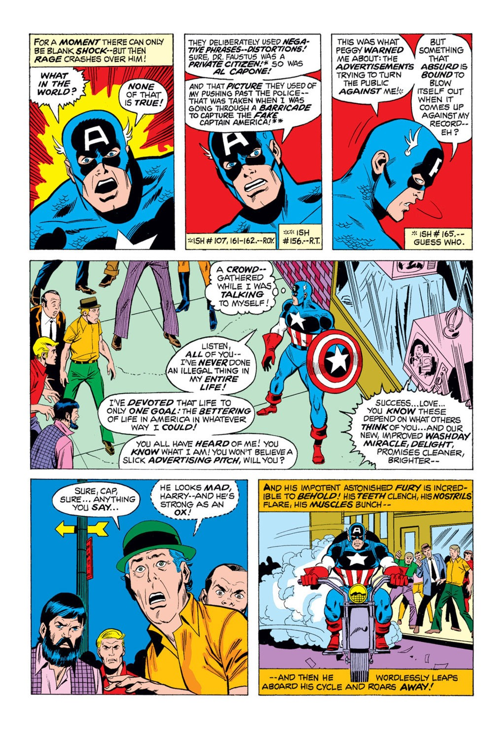 Captain America (1968) Issue #169 #83 - English 9
