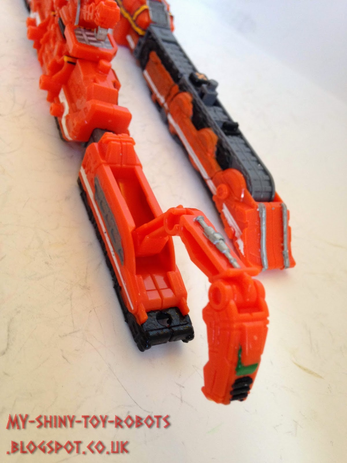 Functioning crane arm