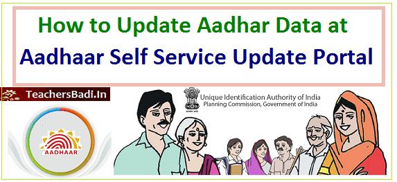 how to update aadhaar data at aadhaar self service update. Black Bedroom Furniture Sets. Home Design Ideas