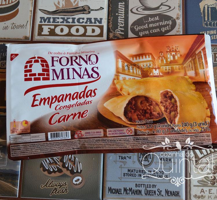 Forno de Minas no Amigas Conectadas na Cozinha do Quintal (empanadas de carne)