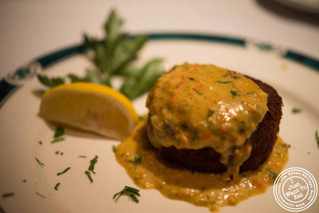 Image of Crab cakes at Empire Steakhouse in NYC, New York