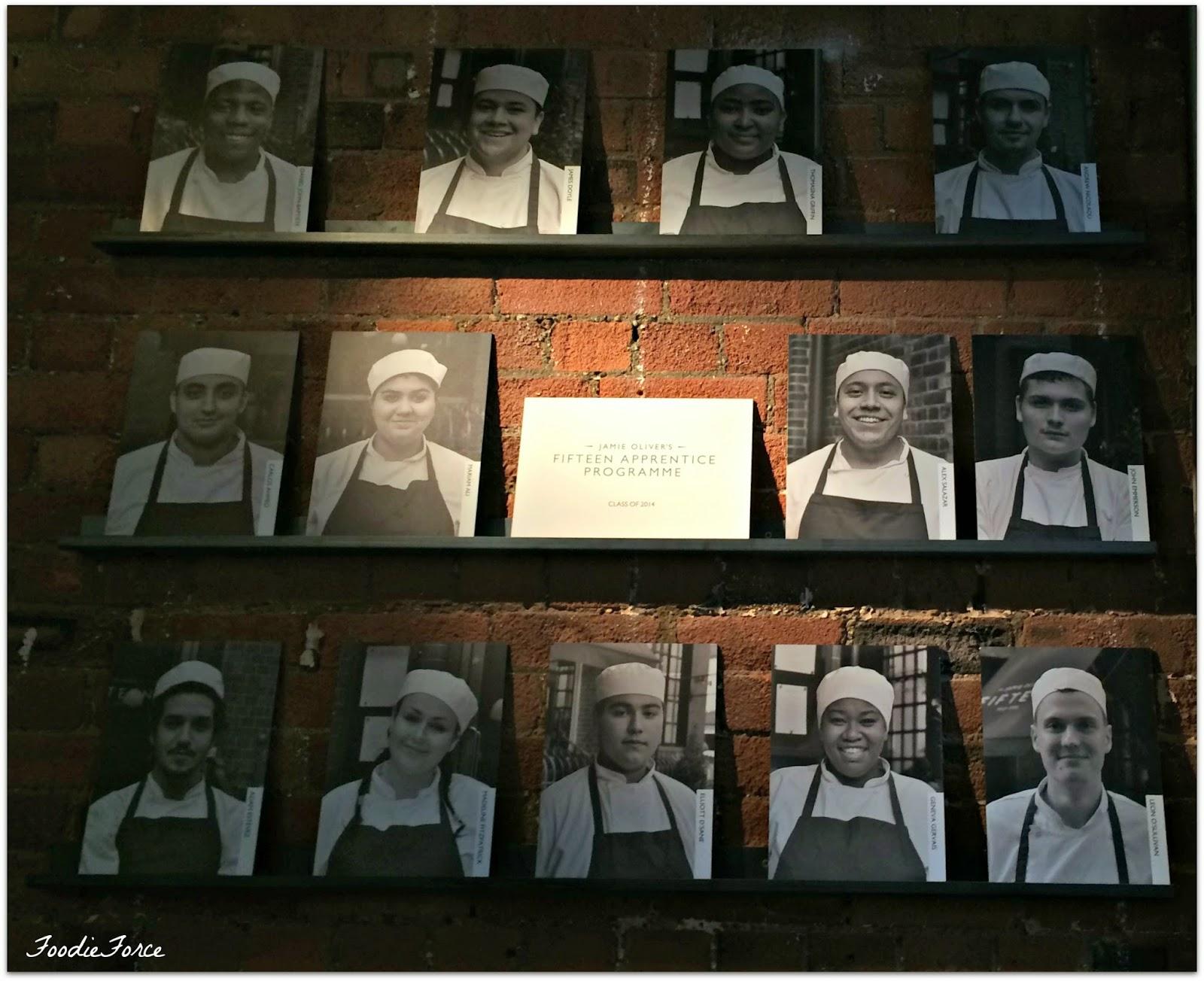 Jamie Oliver Apprentice programme