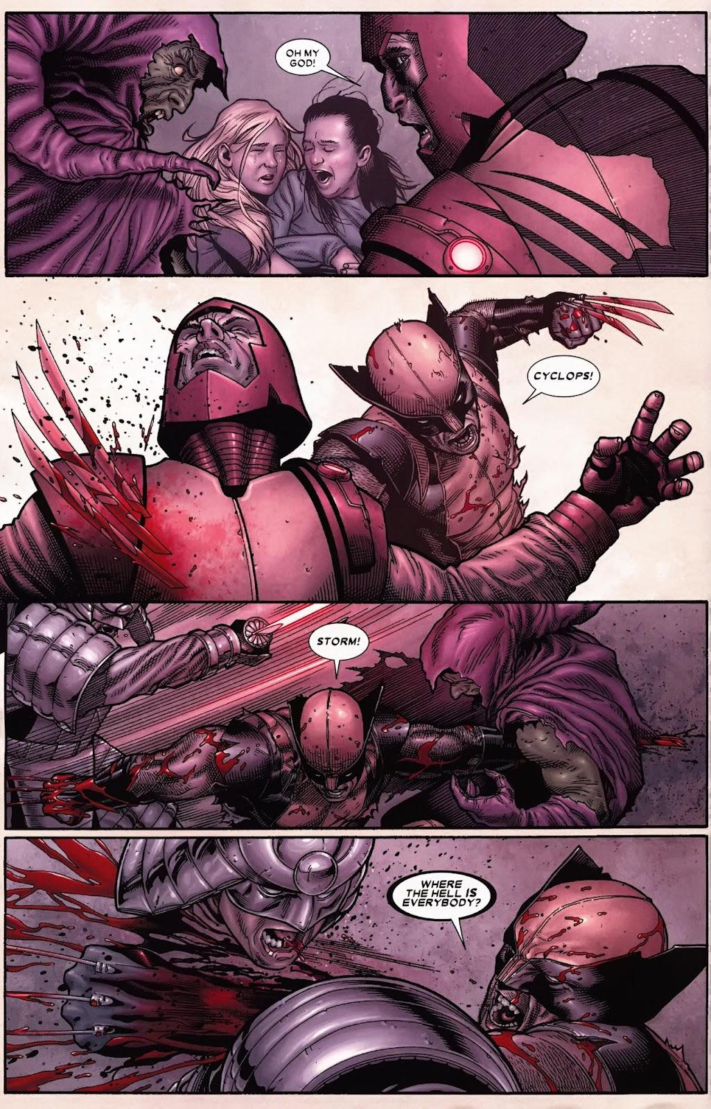 Read online Wolverine (2003) comic -  Issue #70 - 9