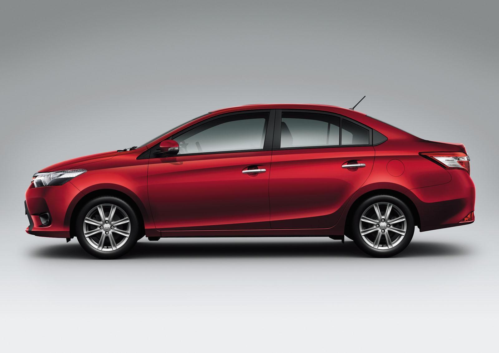 novo Toyota Vios 2014 lateral