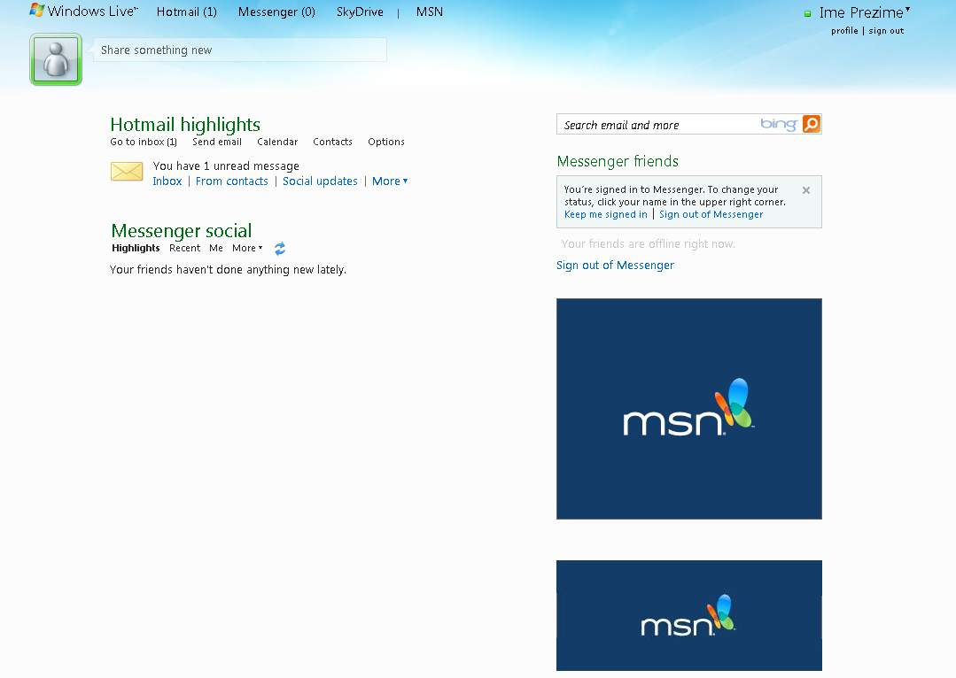 msn.se hotmail login dateing