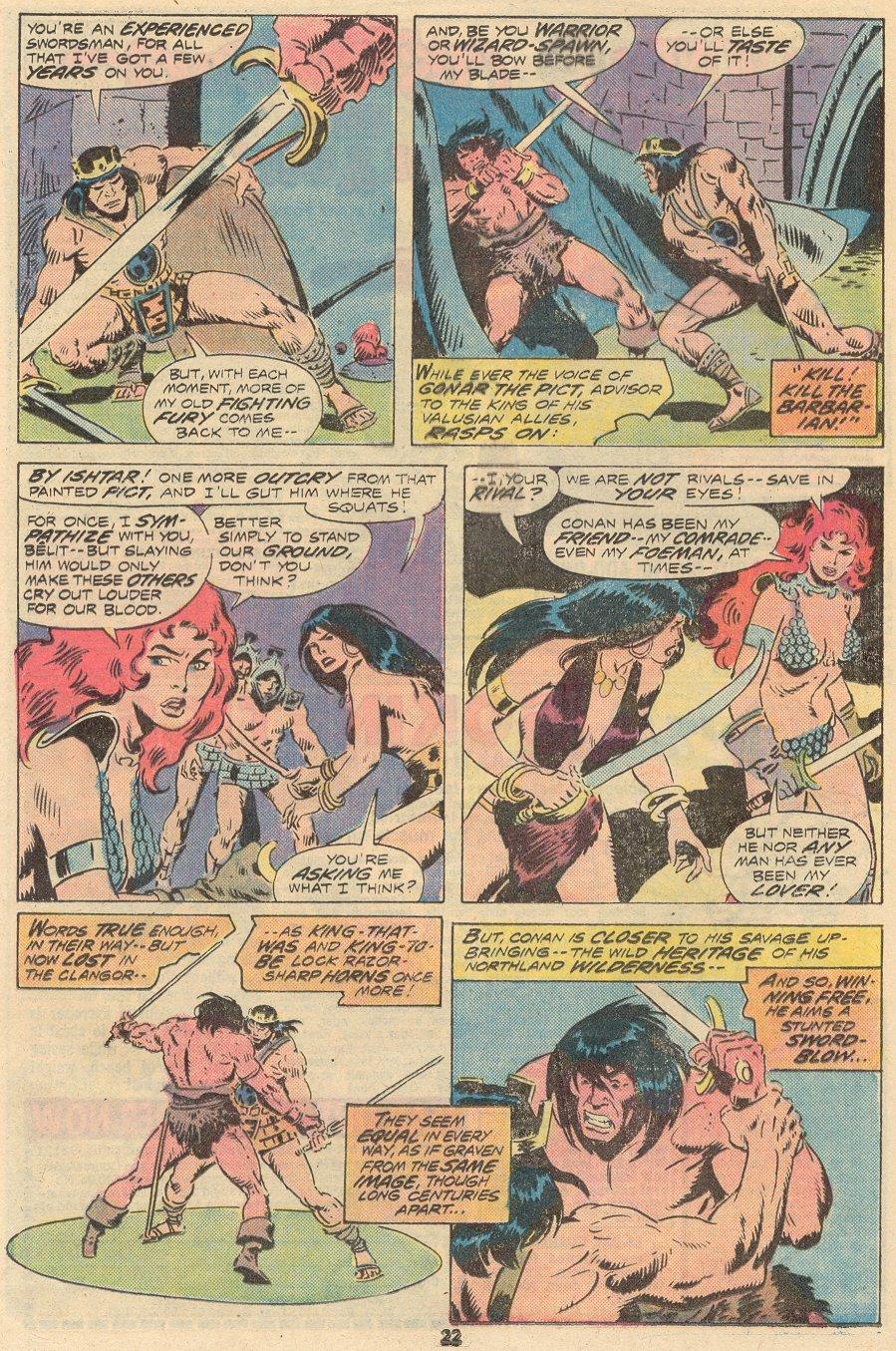 Conan the Barbarian (1970) Issue #68 #80 - English 15