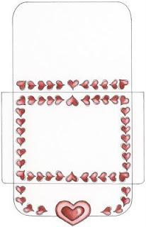 envelopes for valentines