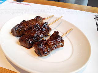 Wagamama, Japanese cuisine, beef kushiyaki