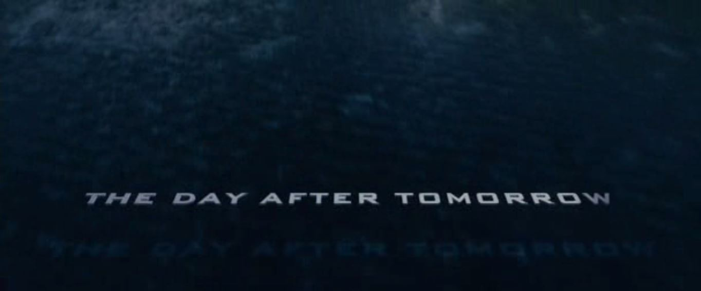 the day after tomorrow movie The day after tomorrow follows a typical disaster movie formula, interspersing  the money shots–most of which can be seen in the trailer–with.