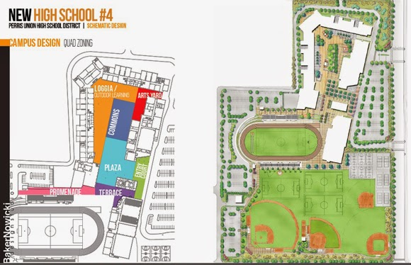 Design for New High School in Southeast Menifee Presented
