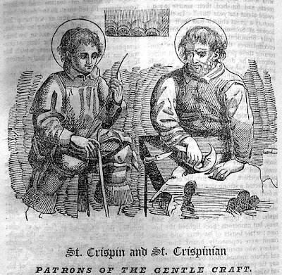 Happy St Crispin's Day