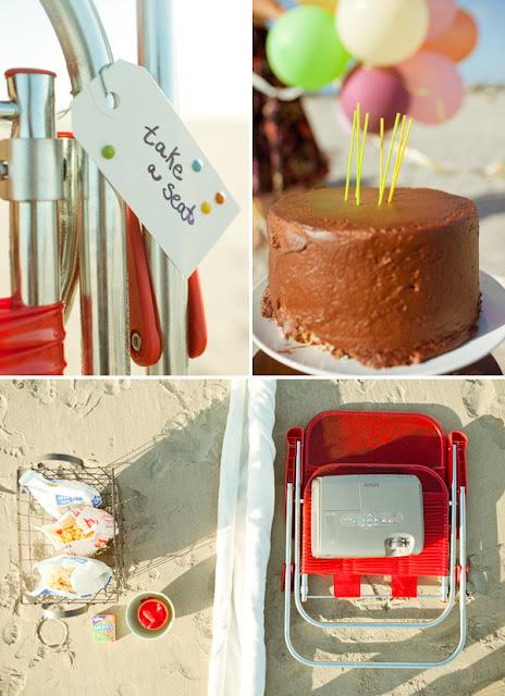 semplicemente perfetto compleanno beach party intimo