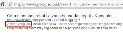 agar blog tampil dihalaman pertama google