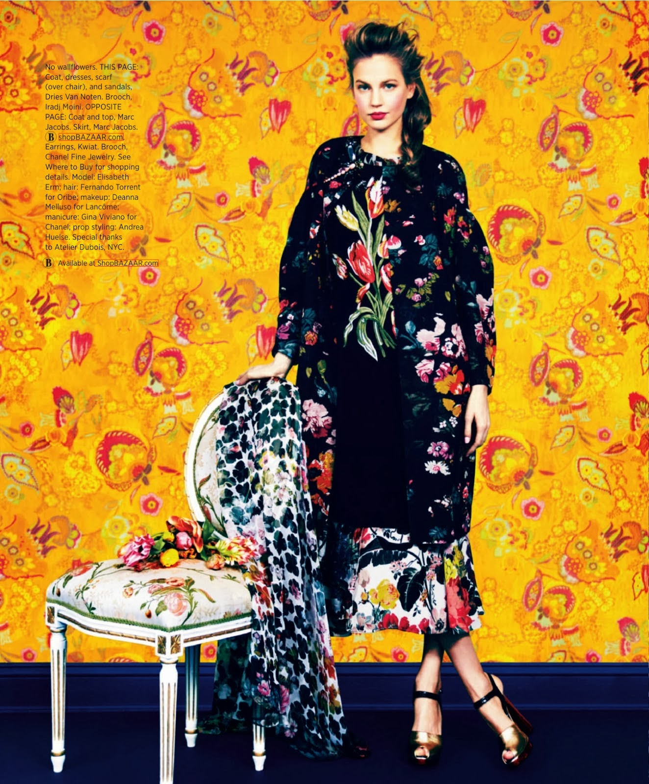 Elisabeth Erm HQ Pictures Harpe's Bazaar Magazine Photoshoot March 2014