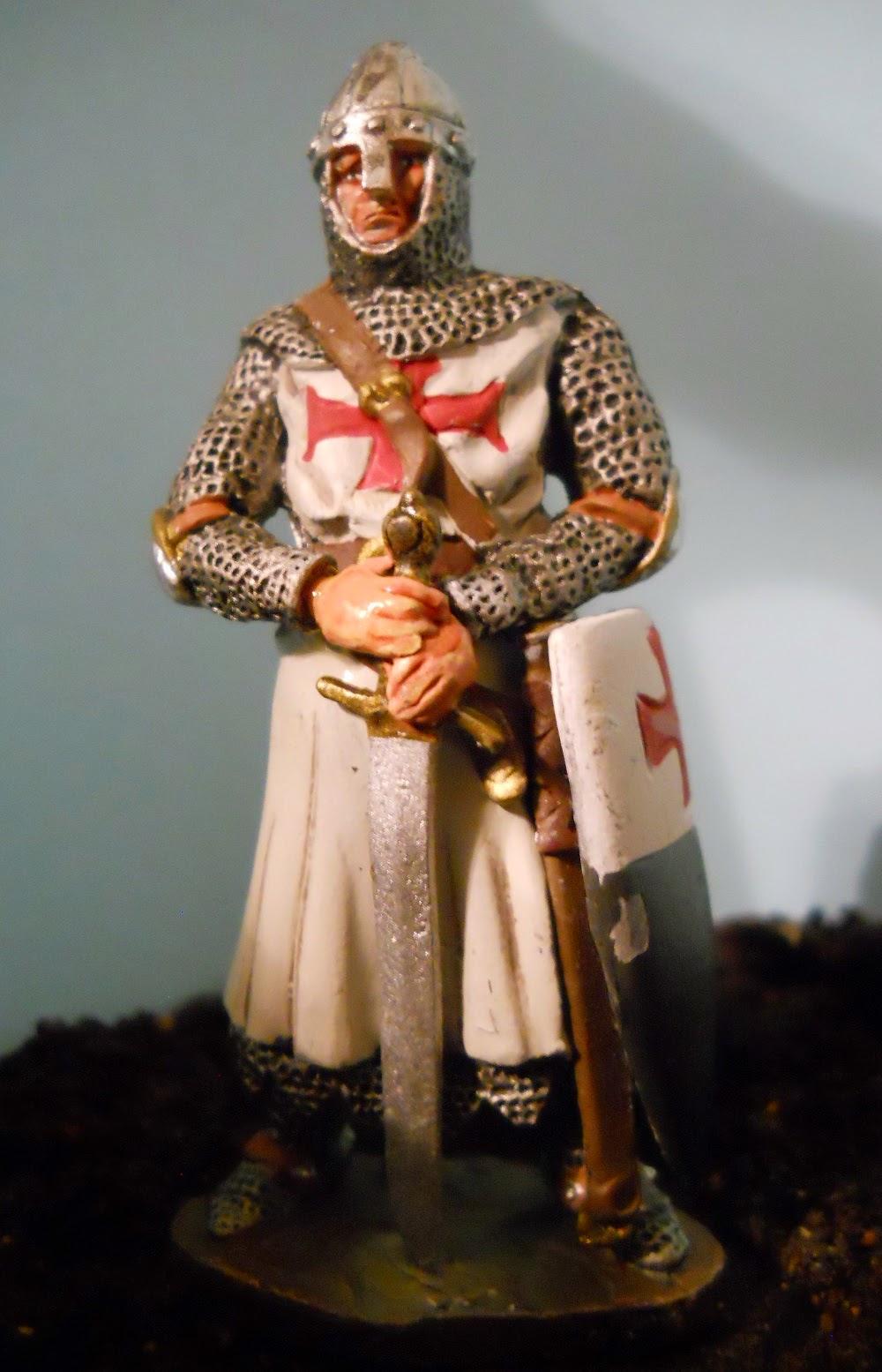 soldado de plomo caballero orden del temple