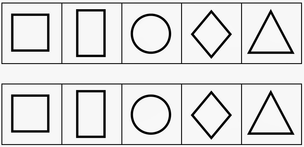 Le journal de chrys formes g om triques en moyenne section - Coloriage des formes ...