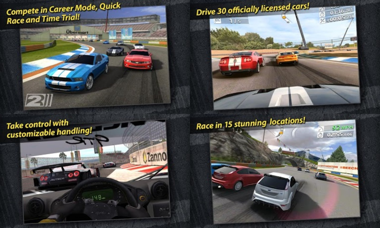 Real Racing 2 Apk + SD Data (All Devices) | Android Games Download