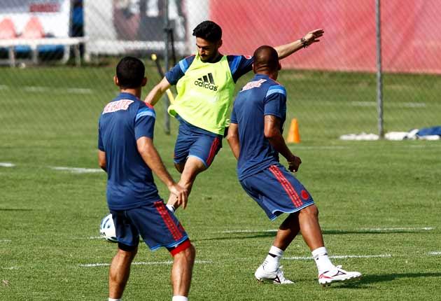 Márquez Lugo se lesionó en un entrenamiento antes del clásico del 22 de marzo.