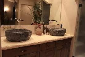Angicafe Kamienny Blat W łazience