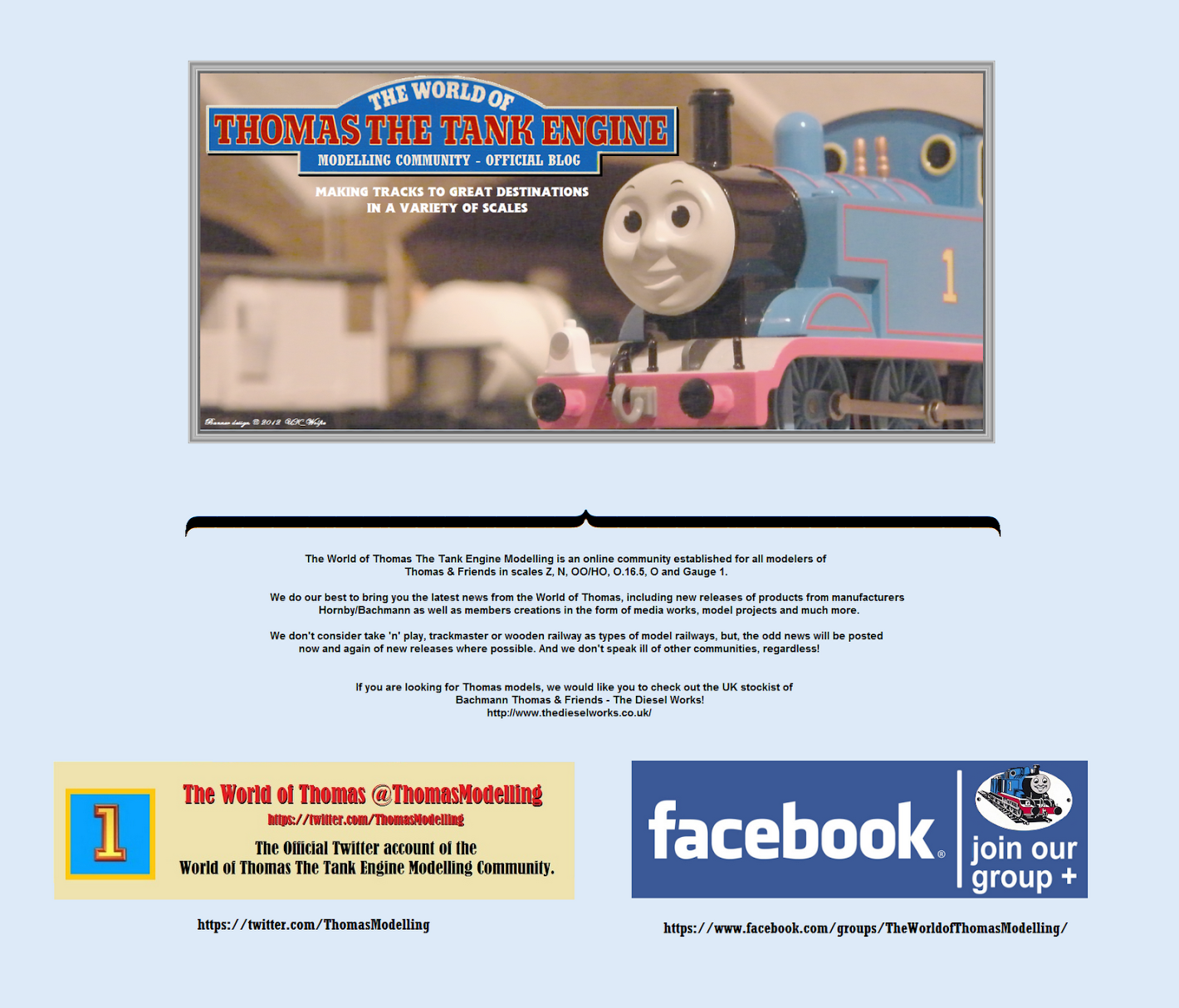 The World of Thomas The Tank Engine Modelling