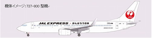"JAL Express ""Let's Do Out Best, Japan!"" livery"