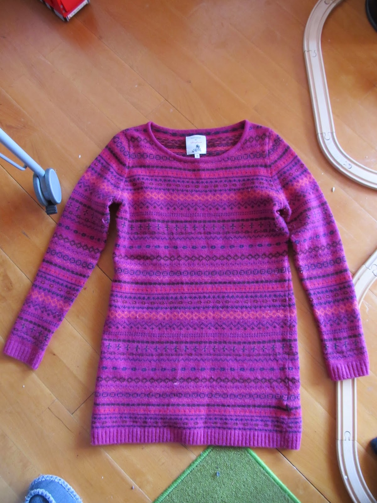 Wool Sweater Too Small 2