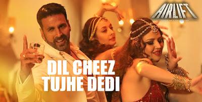 Dil Cheez Tujhe Dedi Lyrics