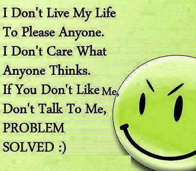 you don t like me