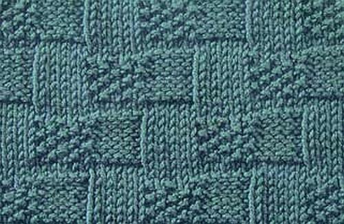 Knitting Stitches Moss Instructions : Knitting Galore: Basket Weave Moss Stitch