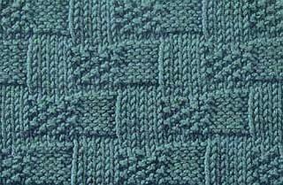 Stitch Glossary: Basketweave Stitch - About Knitting