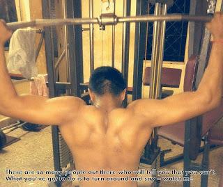 gym profile pic