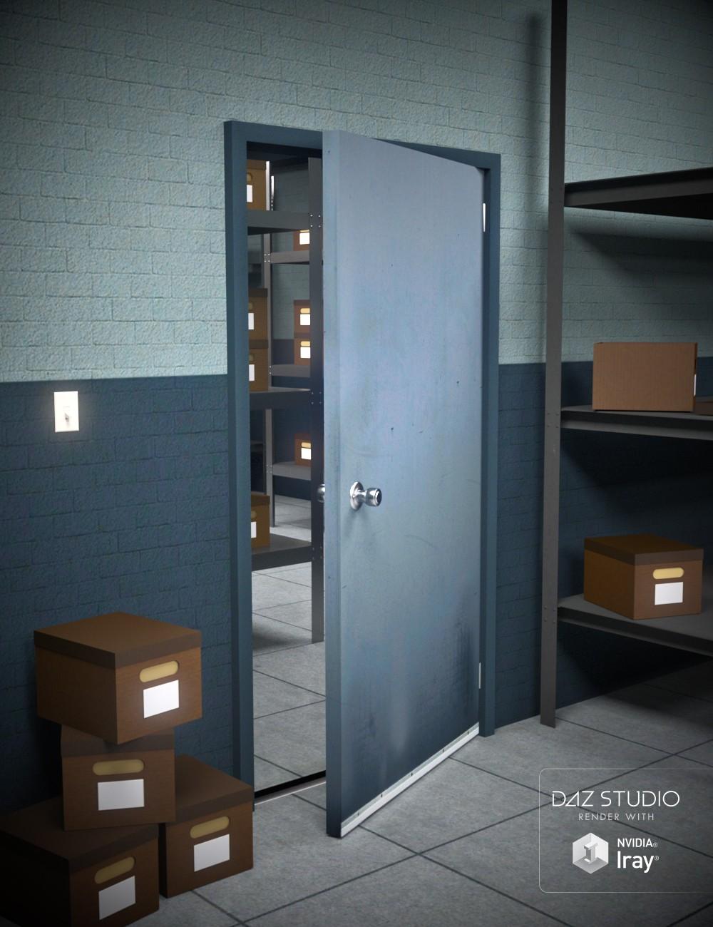 Download daz studio 3 for free daz 3d police storage room for Living room 2 for daz studio