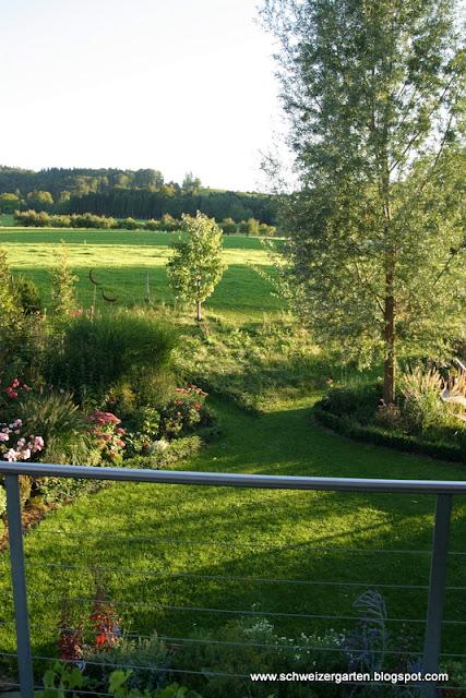 Ein Schweizer Garten Septembergarten