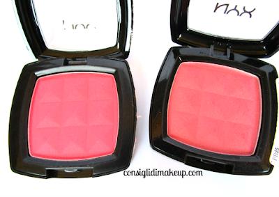 NYX blush in polvere recensione