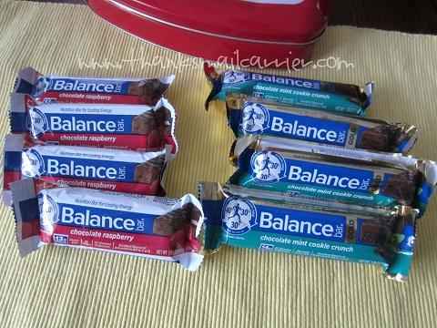 Balance Bar flavors