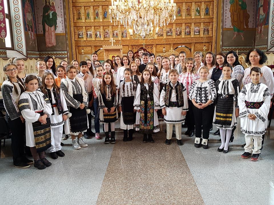 La hramul Bisericii Sfântul Dumitru, 26 oct. 2017