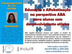 Curso Educação e Alfabetização na perspectiva ABA para Alunos com Desenvolvimento Atípico
