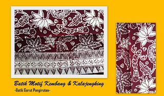 Model Batik Bunga