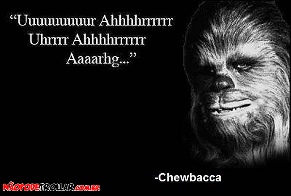 chewbacca frases famosas