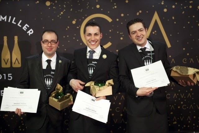 Ganadores Mejor Sumiller de España en Cava