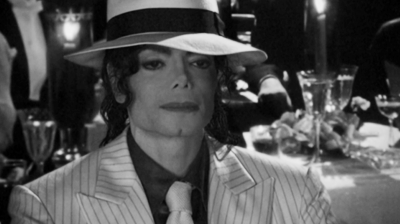Michael Jackson's – This is it - Michael filming a new 3D version of Smooth Criminal.