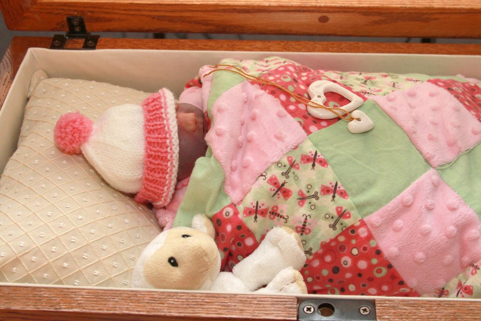 baby rachel s legacy open casket