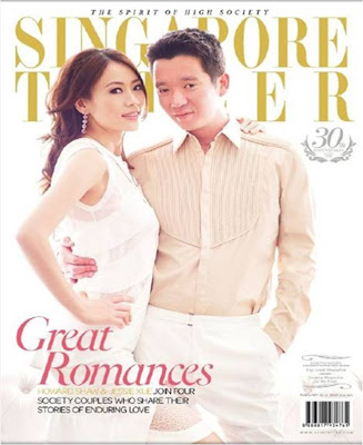 Jessie Xue and Howard Shaw Tatler Singapore