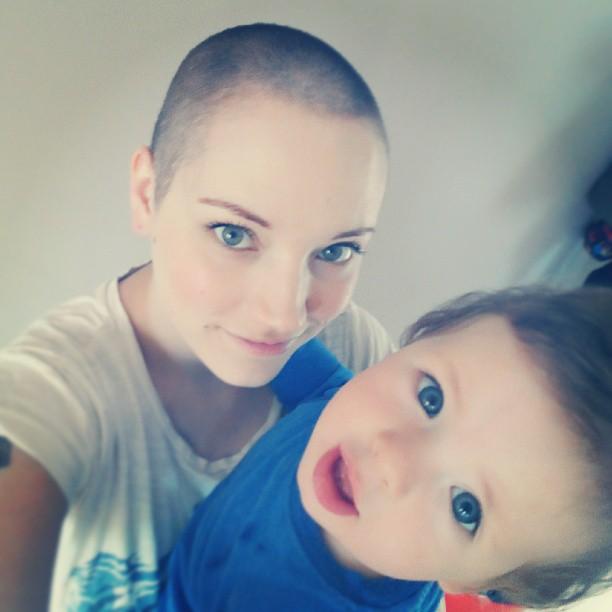 Mrs bonzai charity head shave one womans experience mrs bonzai solutioingenieria Images