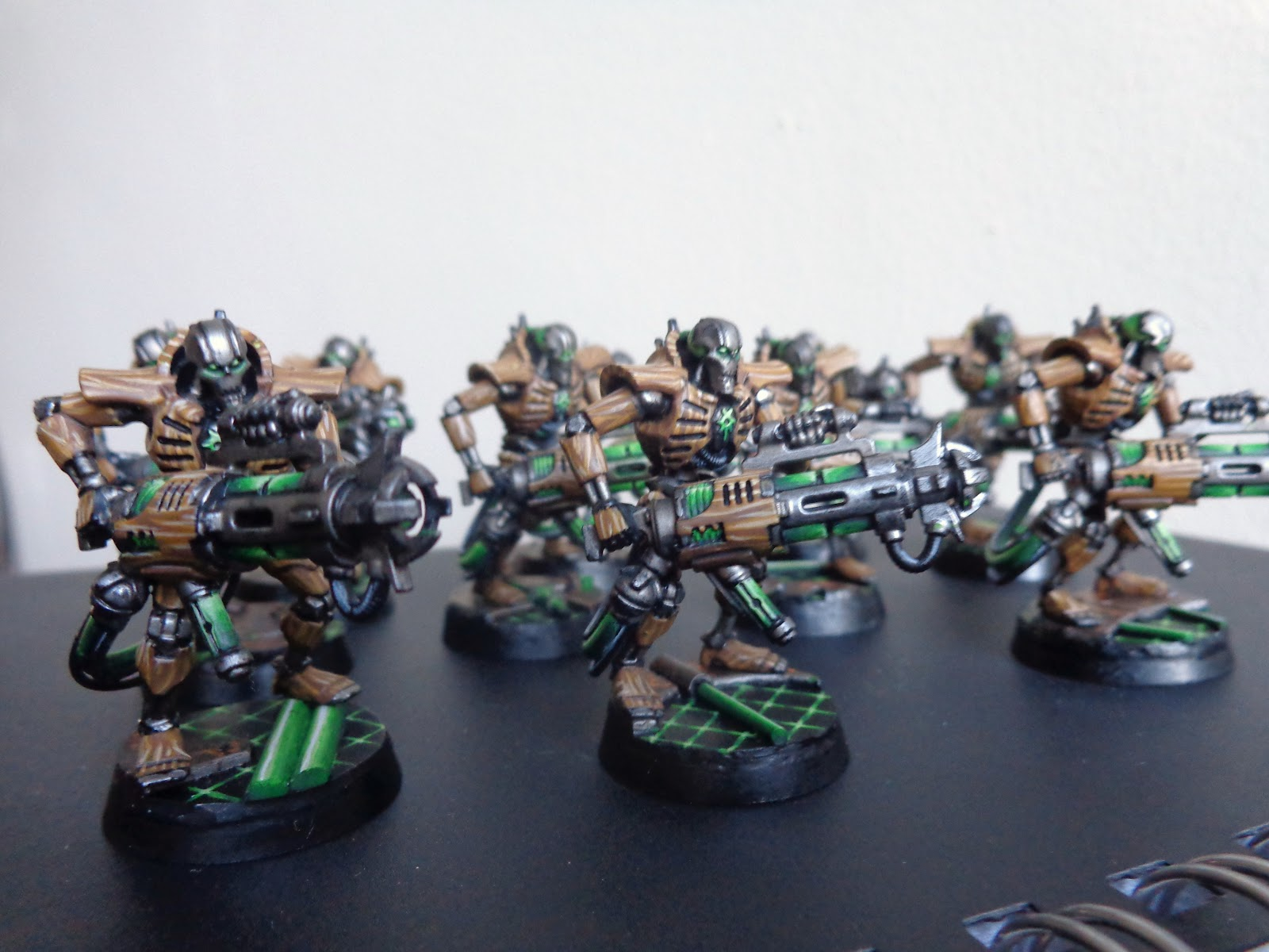 Dims' Galleries: Necron Project part 5, a Masterclass, and a screwup