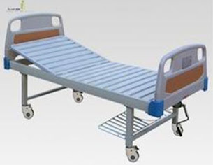 ABS hospital bed single fowler