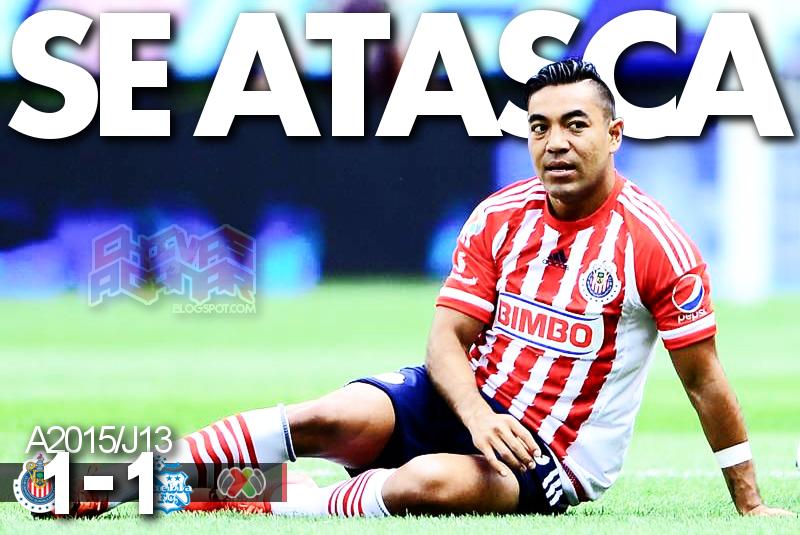 CD Guadalajara 1-1 Puebla FC - Liga MX - Jornada 13 - Apertura 2015.