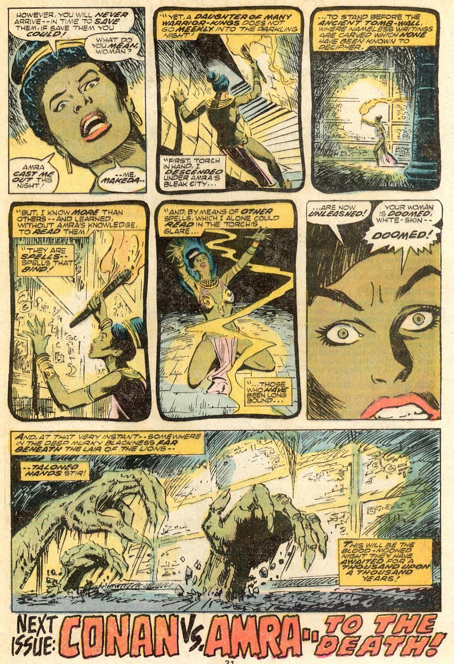 Conan the Barbarian (1970) Issue #62 #74 - English 18